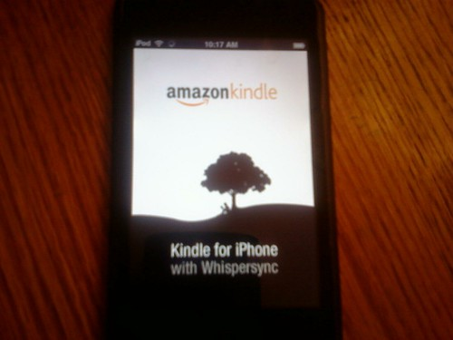 Kindle on my ipod