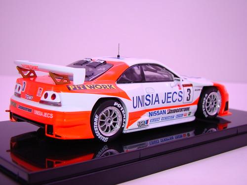 EBBRO UNISIA JECS SKYLINE R33 JGTC 1998 (5)