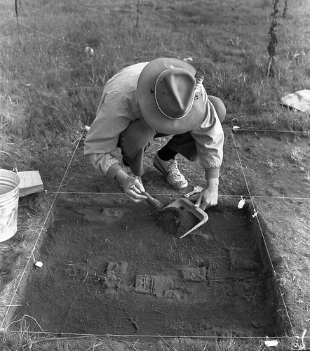 Historical archaeology at Champoeg State by gbaku, on Flickr