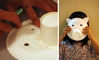 the making of piggy mask