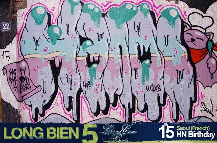 Long Biên 5 Graffiti Battle 13