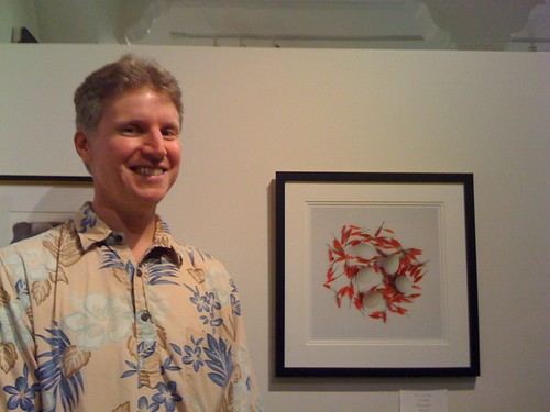 "Eric with ""Fertility"" at EHCC Spring Arts Fest Opening"