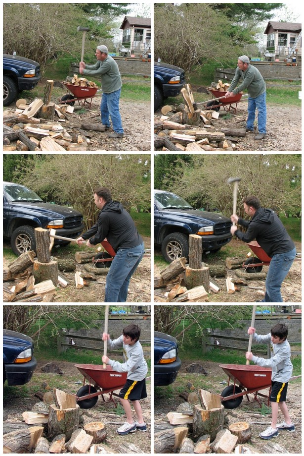 Chopping Wood