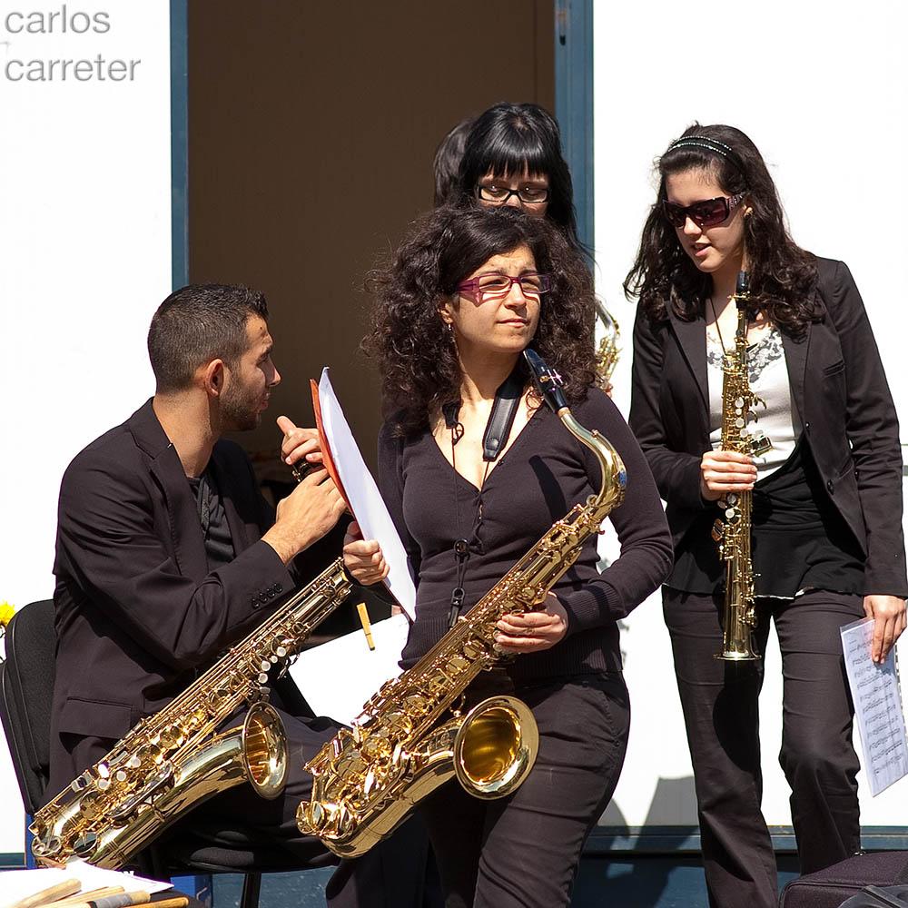 Música para el futuro - saxofones