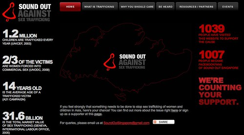 Sound Out Against Sex Trafficking