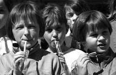 Letter from Bosnia - Girls Eating Sweets