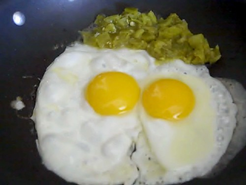 Green Eggs and Green Chile