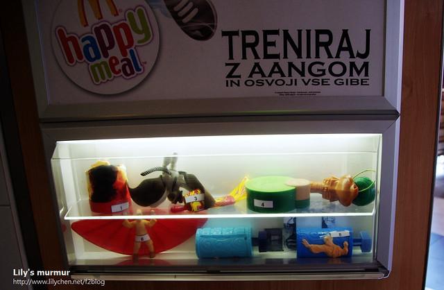 兒童餐的玩具,居然是少林功夫和尚?!