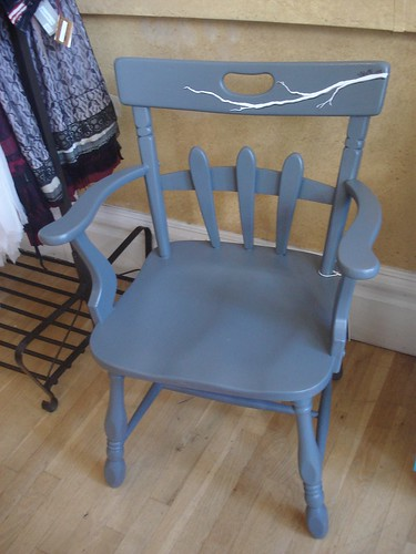 Swankety Swank Showcase: Gray Branch Chair