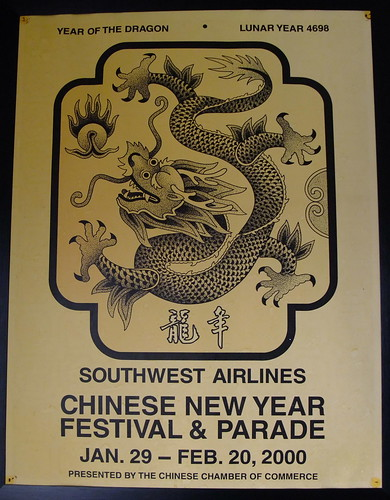 Southwest Airlines Chinese New Year Festival & Parade Year of the Dragon