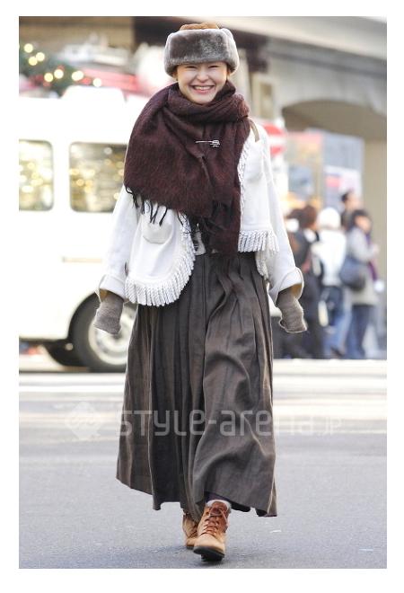 japan street style 10 - stole