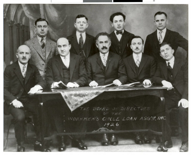 Board of Directors of the Workman's Circle Loan Association, St. Paul