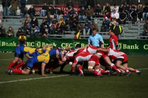 Rugby - Romania Georgia - 13 Martie 2010