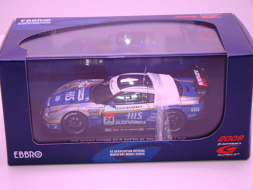 EBBRO HIS ADVAN KONDO GT-R SUPER GT 500 2009 RD.7 FUJI (10)