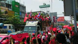 Thailand Red Shirt Parade