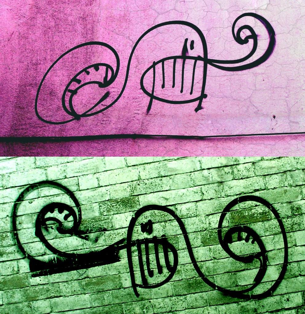 Cardiff Graffiti Characters No2