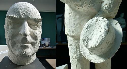 """Olav Orud: """"Mann og bauta"""" (2010)"""
