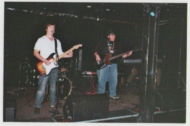 At a gig