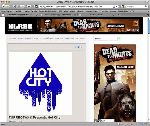 Hot City Submerse DJ Dom TURRBOTAX® Brooklyn