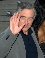Robert De Niro Wave Shankbone 2010 NYC