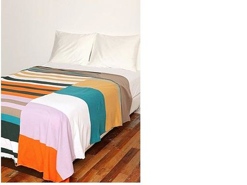 panel stripe blanket2 Urban Outfitters