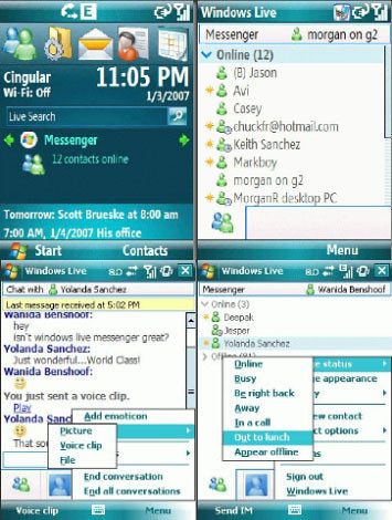 Windows Live Messenger para Celulares y Moviles