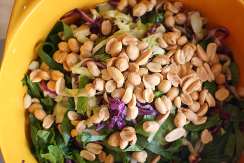 Peanut/Lime Cabbage Salad