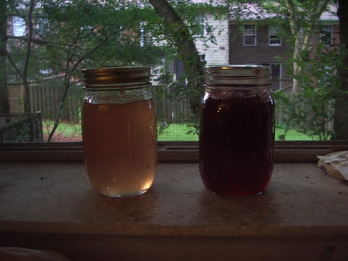 Preserves in the sunlight