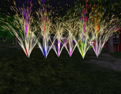 Virtual Fire Flowers