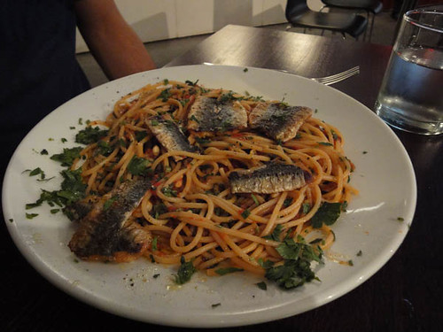 Fix St James: Sicilian Sardine Spaghetti