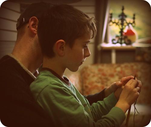 Kids' Knitting Class 1