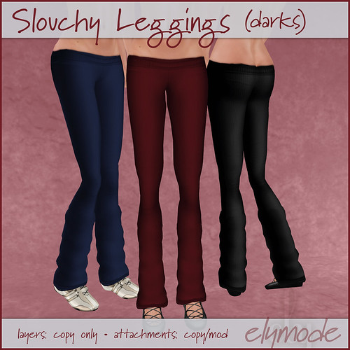 slouchy leggings dark