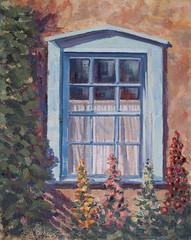 Blue Window - 12x16
