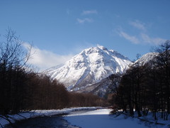 Winter trekking at Kamikochi