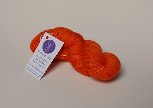 4ply, BFL, semi solid orange