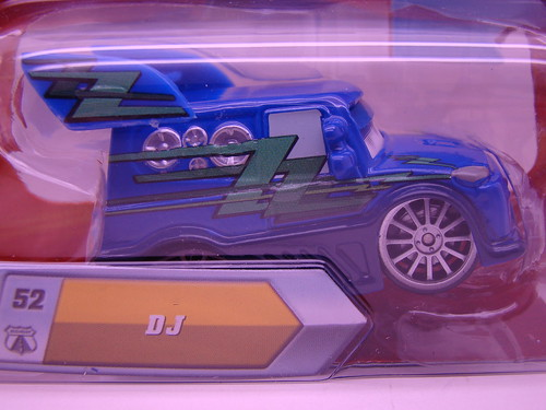 Disney CARS Lenticular  DJ (2)