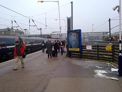 Peterborough station - 7:50am