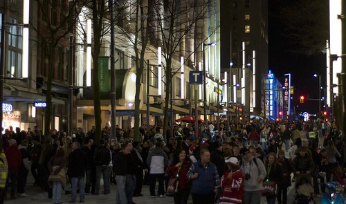 Vancouver 2010: Day 9 - Granville Street at night