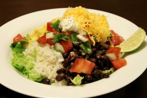 late-night burrito bowls