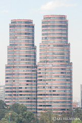 Polanco district towers , Mexico