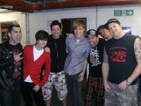 Alex back stage with Zebrahead
