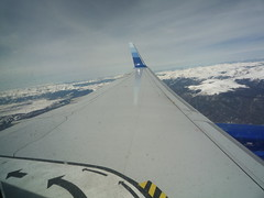 Winglet Over Rockies