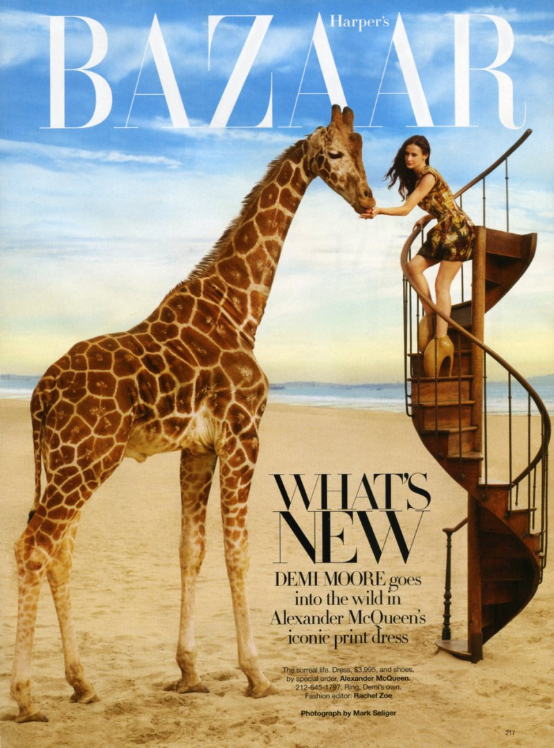 Harper's Bazaar US April 2010 2