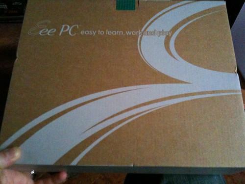 Asus Eee PC 1005 HA - box