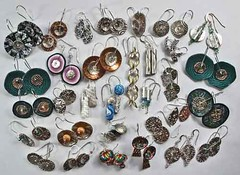 Month of Earrings (all 32 pairs)