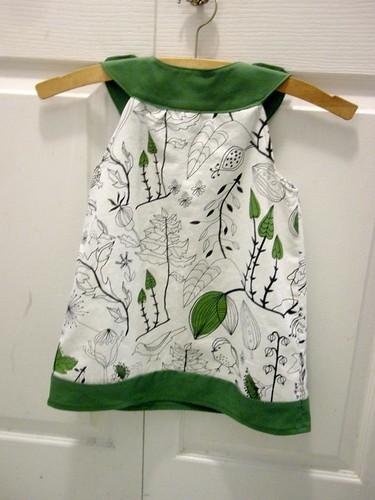 Bird Dress - Back