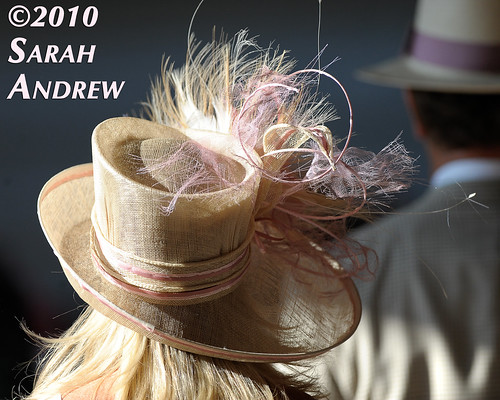 I have to admit, photographing Kentucky Derby hats is kinda fun...