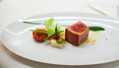 3rd Course: Seared Yellow Fin Tuna