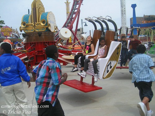 Race to Ride at Coney Island's Luna Park. Photo © Tricia Vita/me-myself-i