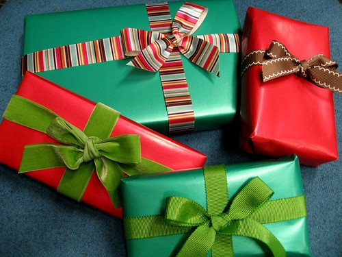 Image result for wrapping presents